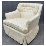 Vintage Tufted Back Club Chair