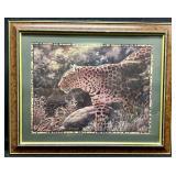 Leopard Framed Art Print