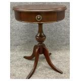 Small Mahogany Drum Table