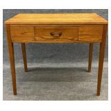 Oak One Drawer Desk or Console