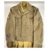 Vintage Army Uniform