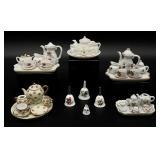 Miniature Tea Sets and Bells