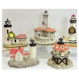 5pc Historic American Lighthouse Collection