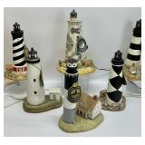 6pc NC Historic American Lighthouse Collection