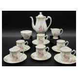 15pc Royal Standard Floral Tea Set