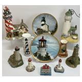 9pc Lighthouse Decor Group
