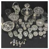Large Group Vintage Glass