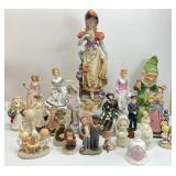 Vintage Figurine Grouping