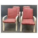 Four Sunbeam Patio Chairs