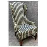Vintage NC Made Upholstered Wingback