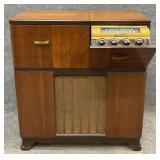 Art Deco RCA Victor Stereo Cabinet