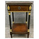 Regency Style One Drawer Stand