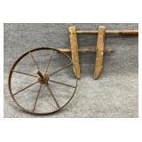 Antique Clamp and Wheel