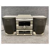 Sony Stereo CD Changer Cassette