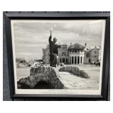 Framed Arnold Palmer Photo