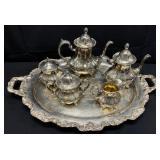 Towle Silverplate Tea Set