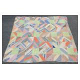 Vintage Hand Sewn Patchwork Quilt