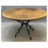 Metal Base 48in Dinette Table
