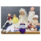 Vintage Kewpie Dolls & More