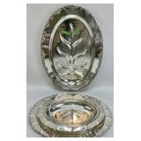 3pc Silver Plated Serving Pieces