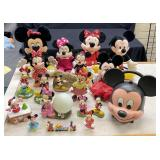 Disney Figurines, Stuffed Animals & More