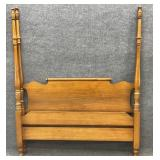 Maple Full Size 4 Post Bed NO RAILS