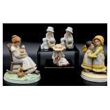 5pc Holly Hobbie Figurines