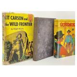 3pc Vintage Western Books
