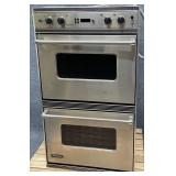 Viking Stainless Double Wall Oven