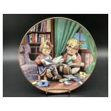 Hummel Budding Scholars Porcelain Plate
