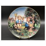 Hummel Apple Tree Boy & Girl Porcelain Plate