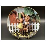 Hummel Come Back Soon Porcelain Plate