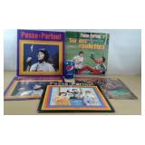 Cinq vinyles de Passe-Partout