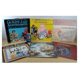 Six vinyles pour enfant / Six vinyl for child