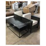 1 LOT 3PC TABLE AND CHAIR SET