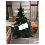 1 LOT 6FT PRE LIT TREE