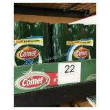 (24) CAN COMET CLEANER