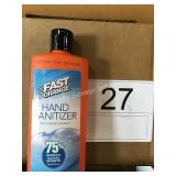 2 CTN (24) FAST ORANGE HAND SANITIZER