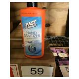 3 CTN (36) FAST ORANGE HAND SANITIZER