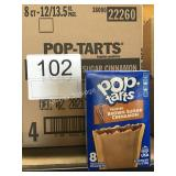 CTN FROSTED POP TARTS EXP 12/21