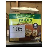 CTN NATURE VALLEY GRANOLA BARS EXP 7/21