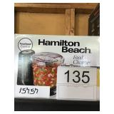 HAMILTON BEACH FOOD CHOPPER