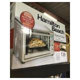 HAMILTON BEACH AIR FRYER/TOASTER OVEN
