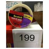 3 CTN (48) SCOTCH PACKING TAPE