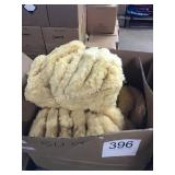 "(50) 9-10"" WOOL POLISHING BONNETS"