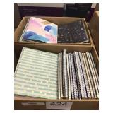2 CTN ASSORTED NOTE BOOKS