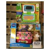 (2) V-TECH LEARNING TOYS