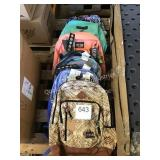 ASSORTED BACKPACKS