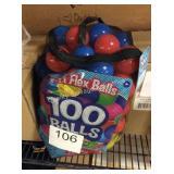 1 LOT PLAY BALLS