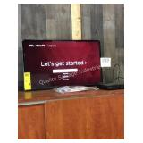 """1 LOT TCL 32"""" LED SMART TV(REMOTE IN OFFICE)"""